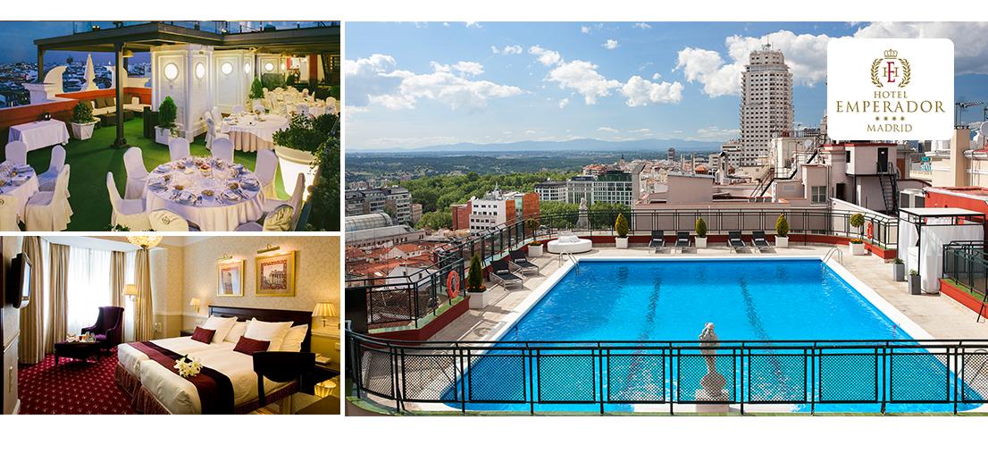 Hotel emperador madrid max tourism - Hotel emperador madrid piscina ...