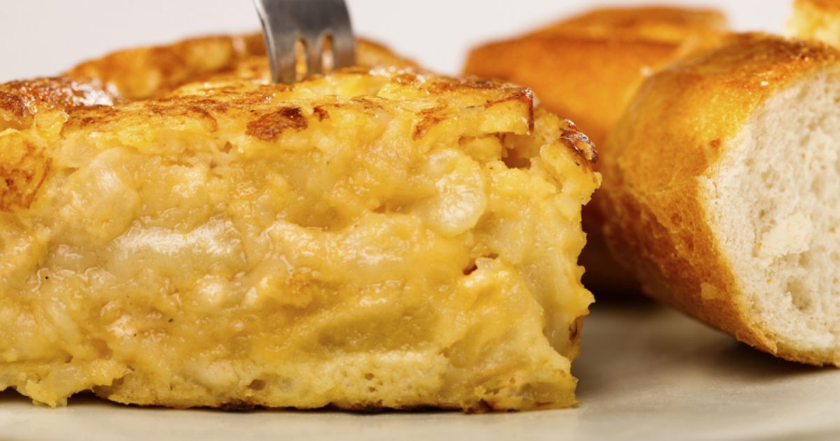 Como hacer una tortilla de patatas