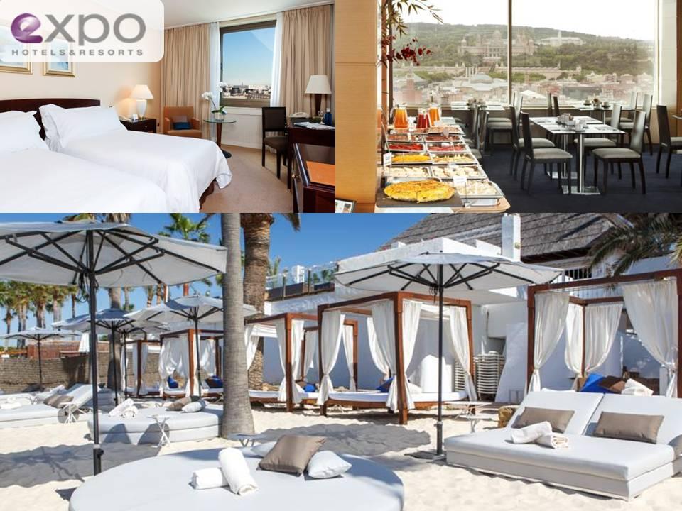 Hoteles de lujo, calidad y confort. Expo Hoteles