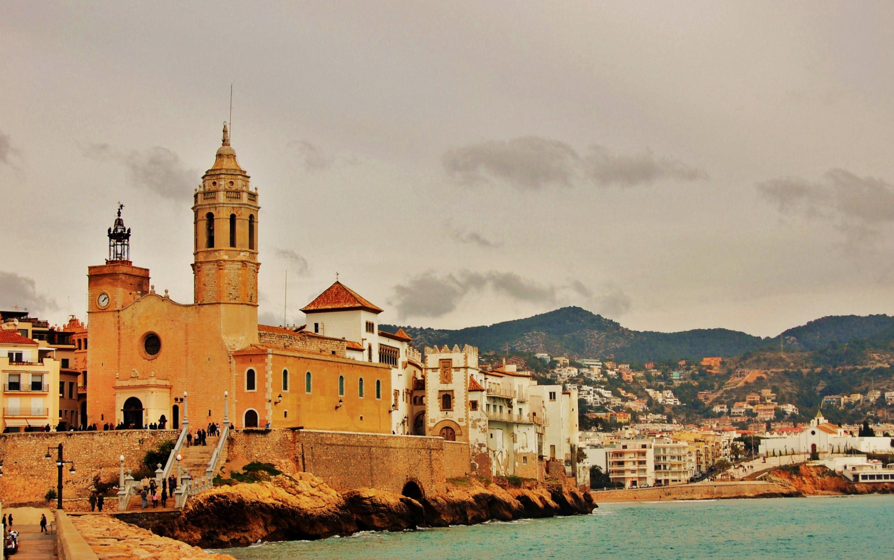 Barcelona, Sitges, Hotel Calipolis,