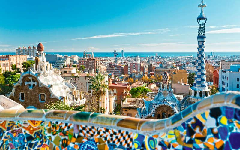 Day in Barcelona